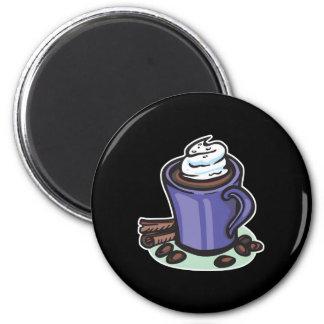 hot chocolate cocoa refrigerator magnet