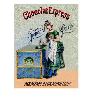 Hot Chocolate Express Postcard