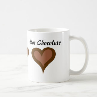 Hot Chocolate Hearts Coffee Mug
