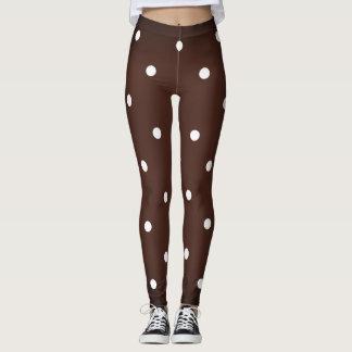 Hot-Chocolate & Marshmellow_XS-TO--XL_Leggings_ Leggings