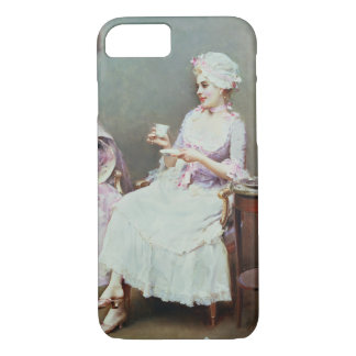 Hot Chocolate (oil on canvas) iPhone 7 Case