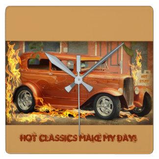 Hot Classics Make My Day Wall Clocks