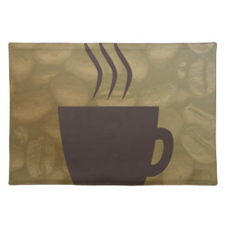 Hot Coffee Background Placemat