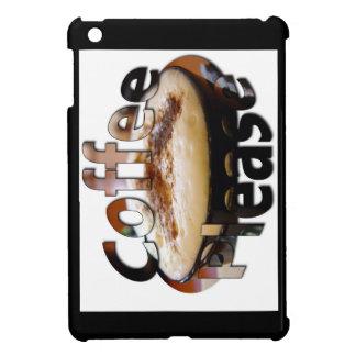 Hot Coffee Please Ipad mini cover with Logo