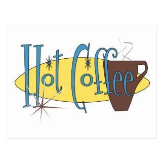 Hot Coffee Postcard