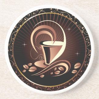 Hot Coffee Sandstone Drink Coaster