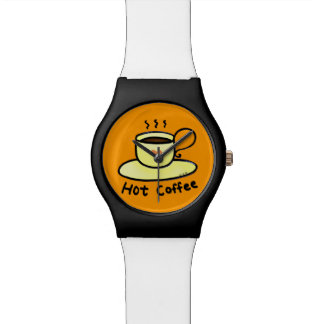 hot coffee wristwatches