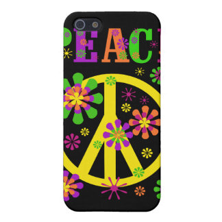 Hot Colors Peace  iPhone 5 Cases