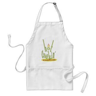 Hot Cookin' Babe Apron