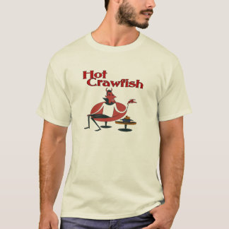 Hot Crawfish with Devil T-Shirt