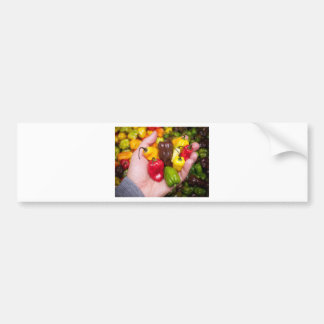Hot crops bumper sticker