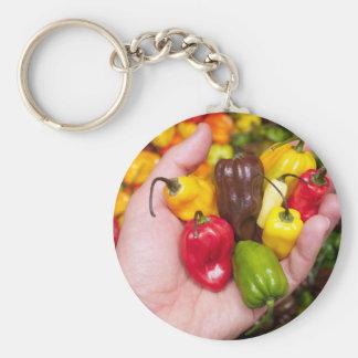 Hot crops key ring