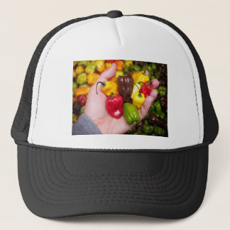 Hot crops trucker hat