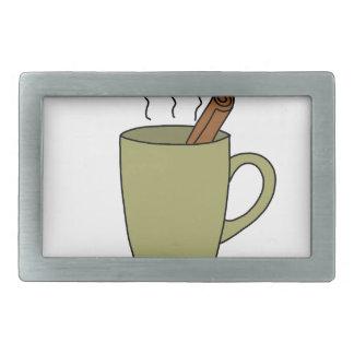 HOT CUP OF TEA RECTANGULAR BELT BUCKLES