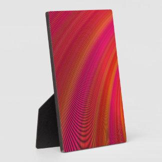 Hot curves display plaques