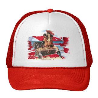Hot Dive Babes in Bikini's Mesh Hat
