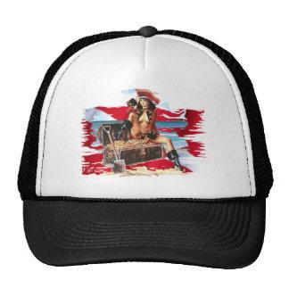 Hot Dive Babes in Bikini's Mesh Hats