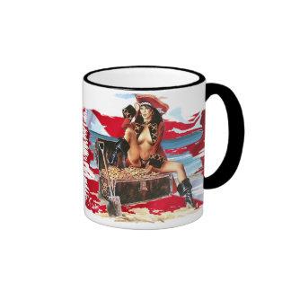 Hot Dive Babes in Bikini's Coffee Mugs