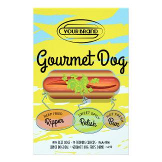 Hot Dog 14 Cm X 21.5 Cm Flyer