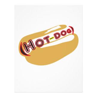 Hot dog 21.5 cm x 28 cm flyer