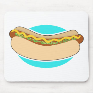Hot Dog and Relish Mouse Pad