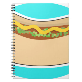Hot Dog and Relish Notebook