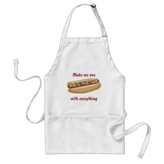 Hot Dog Apron