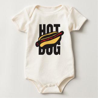 hot dog 🌭 baby bodysuit