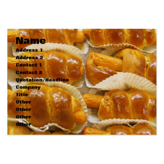 Hot Dog Cake ... Asian Dessert Food Pack Of Chubby Business Cards