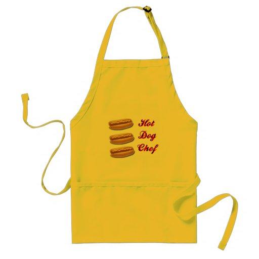 Hot Dog Chef Aprons
