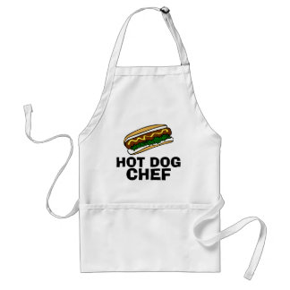 Hot dog chef apron
