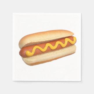 """Hot Dog"" design paper napkins Disposable Serviette"