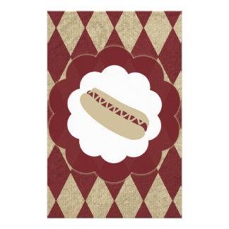 hot dog diamonds customized stationery
