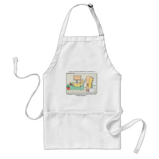 Hot Dog Divorces Funny Tees Mugs & Gifts Adult Apron