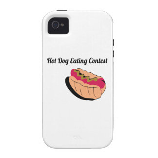 Hot Dog Eating Contest Vibe iPhone 4 Covers