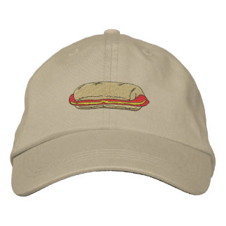 Hot Dog Embroidered Hats