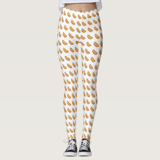 hot dog frankfurter bestselling leggings