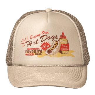 Hot Dog hat (tan)
