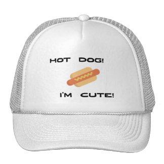 Hot Dog I'm Cute Cap