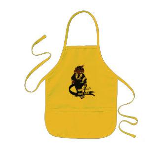 Hot dog kids apron