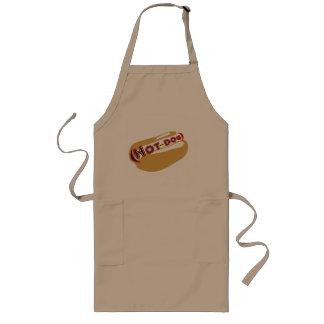 Hot dog long apron