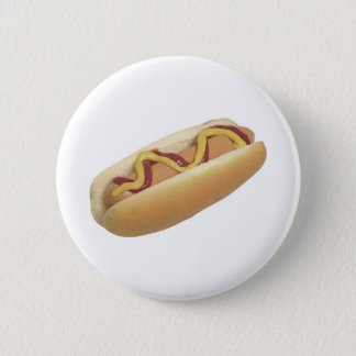 Hot Dog Month 6 Cm Round Badge