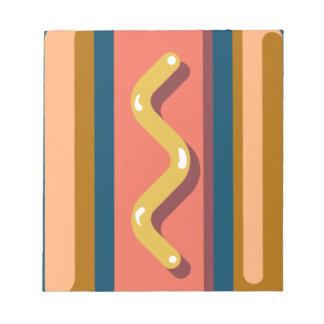 Hot Dog Notepad