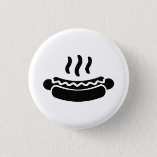 'Hot Dog' Pictogram Button