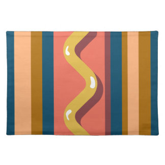 Hot Dog Placemat