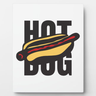hot dog 🌭 plaque