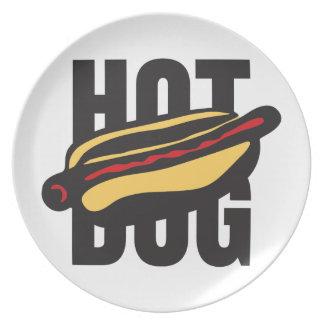 hot dog 🌭 plate