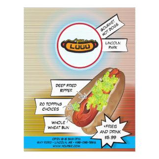 "Hot Dog ""Ripper"" 21.5 Cm X 28 Cm Flyer"