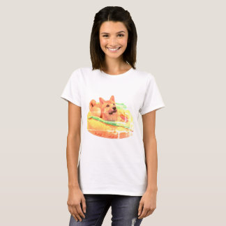 Hot Dog Shiba Shirt
