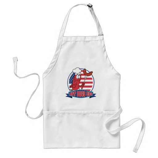 Hot Dogs 50 Cents Apron